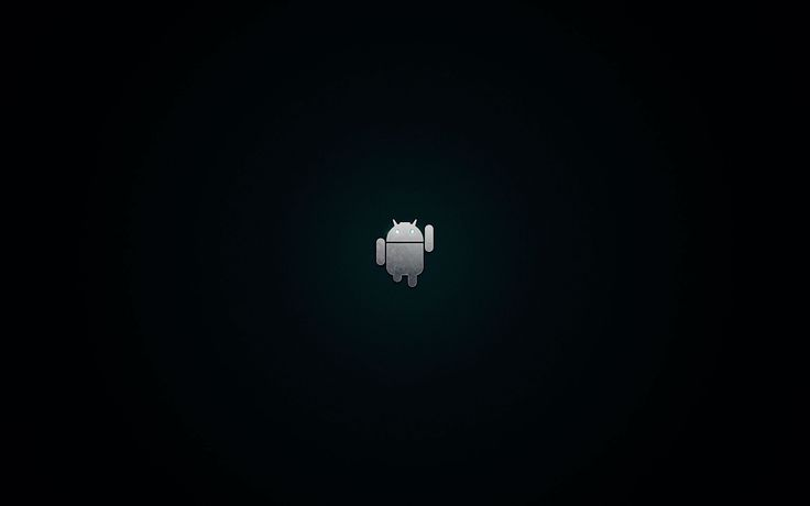 android logo black and white wallpaper