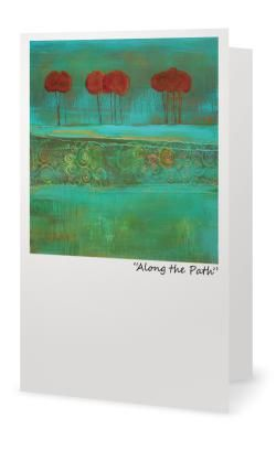 """5X7"""" Blank inside. Created from an original painting by Patt Scrivener, AFCA"""
