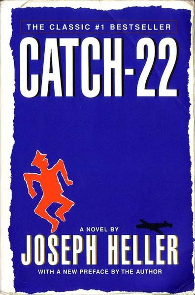 "Catch-22 	  See main article: Catch-22 (book)  By: Joseph Heller  Lost References:        A Portuguese copy of the book is found by Desmond after a helicopter crash near the Island. (""Catch-22"")"
