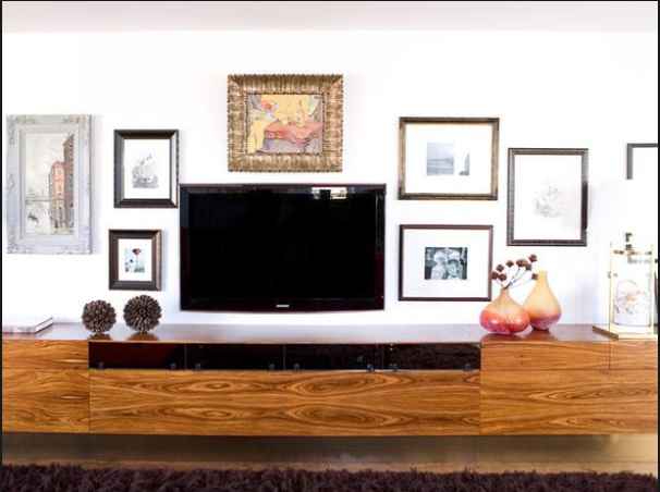 54 Best Flat Screen Tv Decorating Images On Pinterest Living Room Ideas Home Ideas And