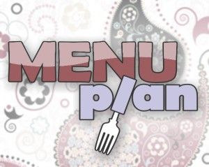 how to menu plan in an hour