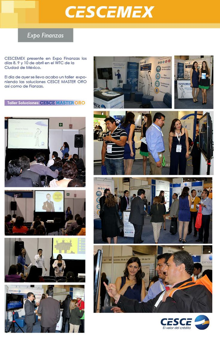 CESCEMEX presente en Expo Finanzas
