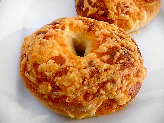 Asiago Bagels. It's a shame every city doesn't have an Einstein Bagels. I can eat their everything bagel or Asiago bagel till i'm sick! I love them love them love them!
