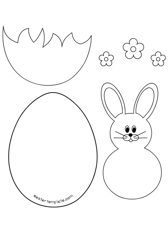 Related images:Printable Carrot TemplateRabbit with bow templateBunny Craft Template