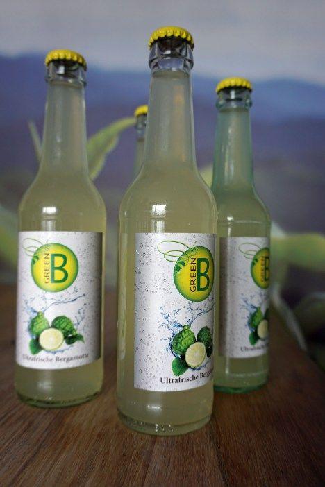 Bergamotte-Limonade aus Köln. Lest hier mehr über die Geschichte von Green B.