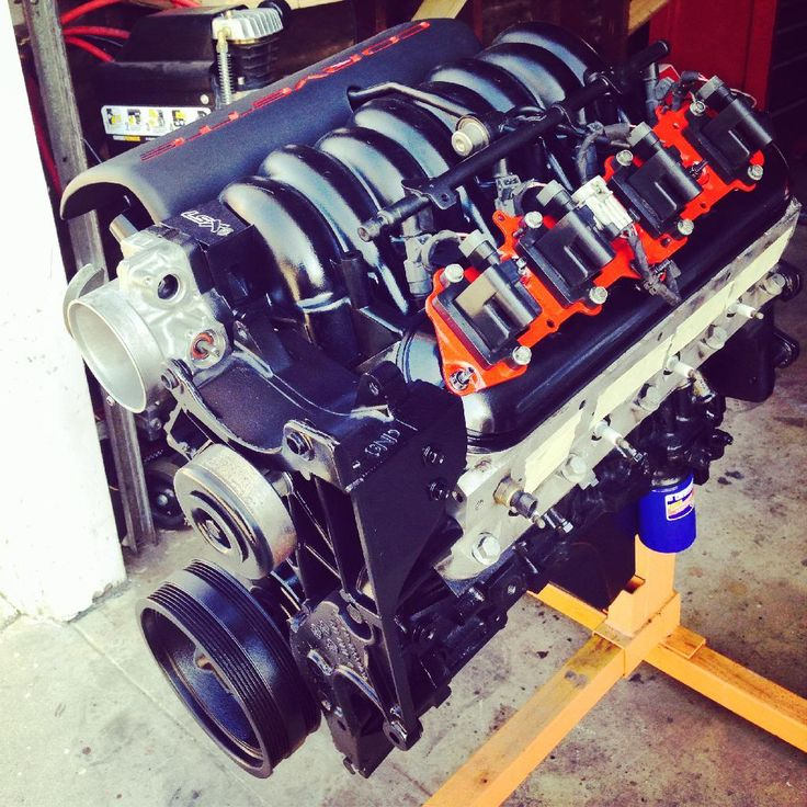 My 5.3L Build Ls1 Intake With Truck Accessories