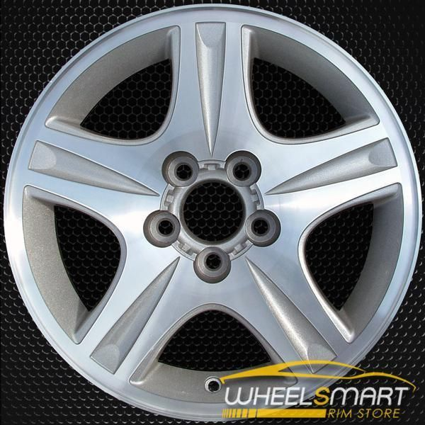 16 Ford Taurus Oem Wheel 2000 2002 Silver Alloy Stock Rim 3385
