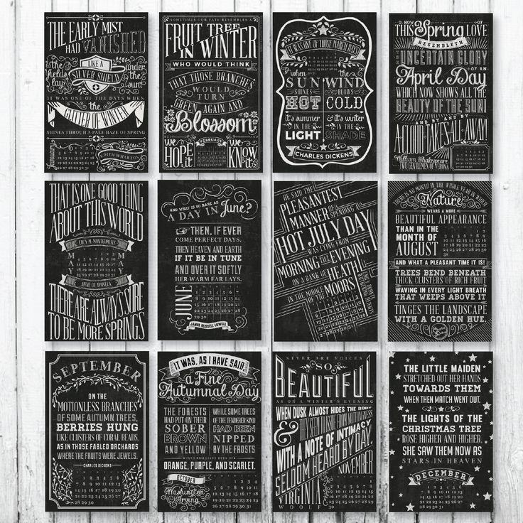 November Chalkboard Calendar Ideas : Best images about quotable chalkboard typography