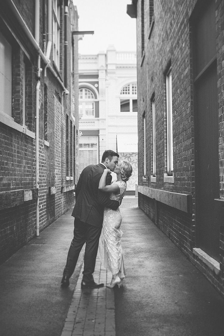 Emily + Josh #ivygown #ruedeseine #younglove Pretty Pink and Navy City Wedding | Merge Photography