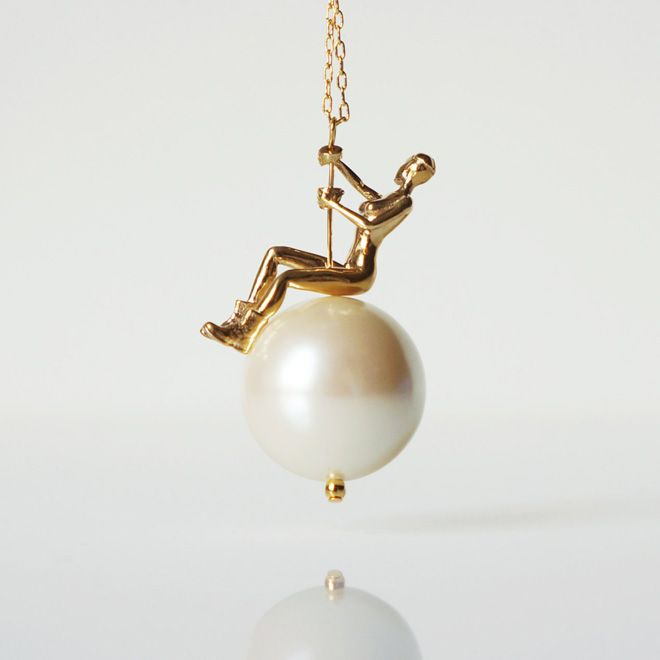 Necklace inspired by Miley Cyruss Wrecking Ball video by TO+WN Design