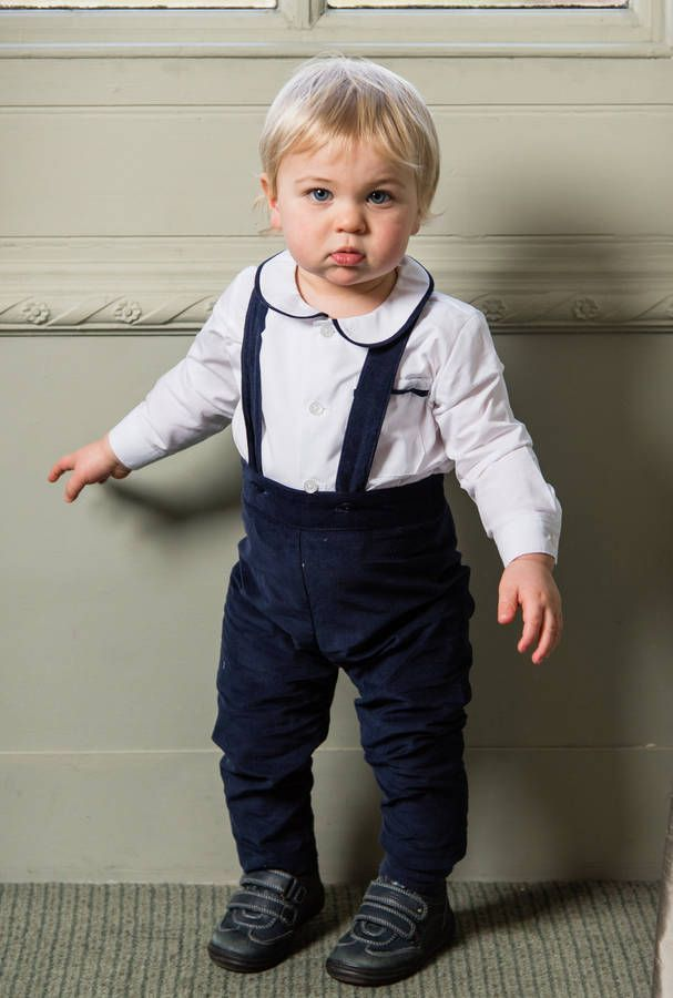 george shirt and trousers set 100% cotton by sue hill | notonthehighstreet.com