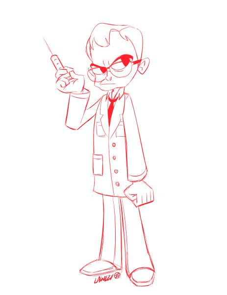 I can't stop thinking about Jeffrey Combs. Okay here's this for now, I will color you later, sir.