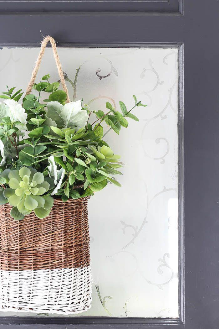 DIY Hanging Basket – Rooms For Rent blog