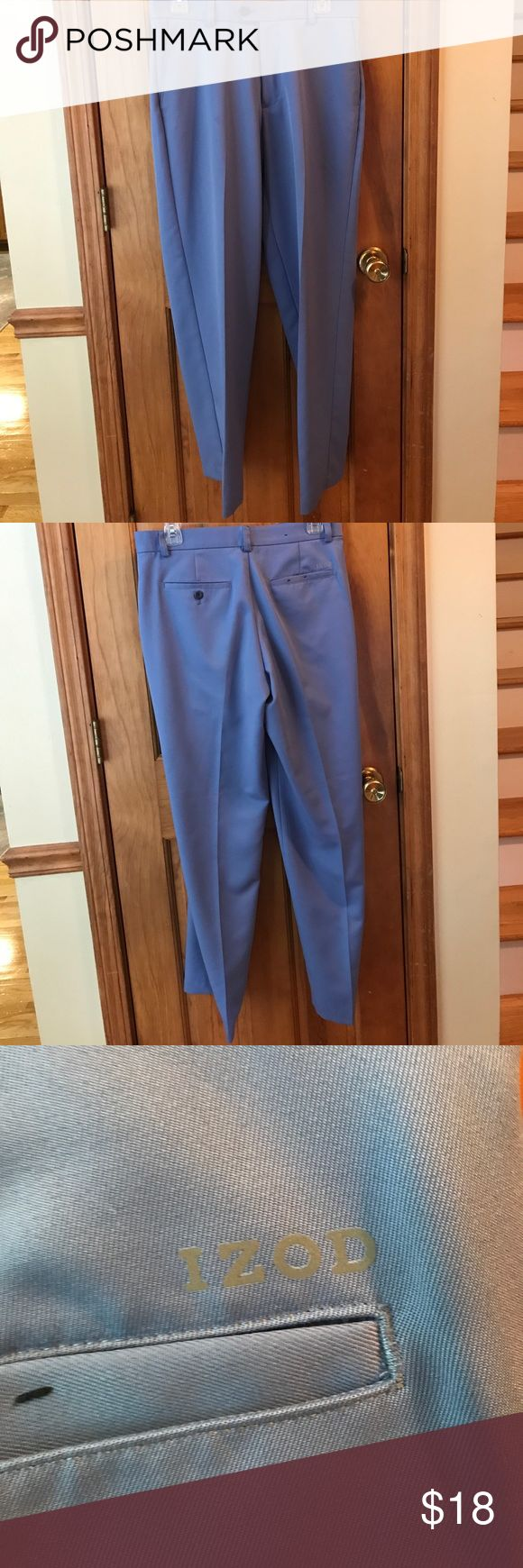 Izod Golf Pants 🏌 ⛳️ These Izod Golf pants are in perfect condition! These are light blue and great for spring and summer (and winter). ⛳️🏌🏻 Izod Pants