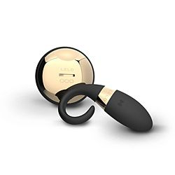 Lelo Oden Version 2 Black Luxury Rechargeable Massager Ring is the upgraded version of the worlds most advanced couples ring, designed for men to wear when making love. Like its predecessor, Oden 2 features an industry first SenseMotion remote control, allowing you to change vibrations with a tilt of your hand now with a 3X greater wireless range and a 50% stronger motor for more intense sensations. Fully waterproof and rechargeable design. Also offers the option to play without remote.