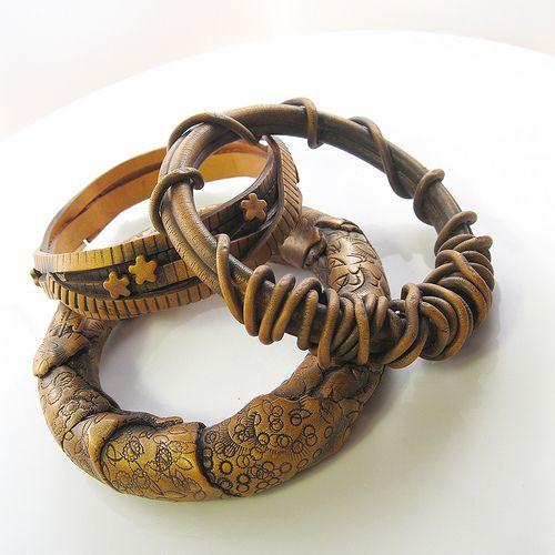Polymer Clay Charm Bracelet: 373 Best Polymer Clay Bracelets Images On Pinterest