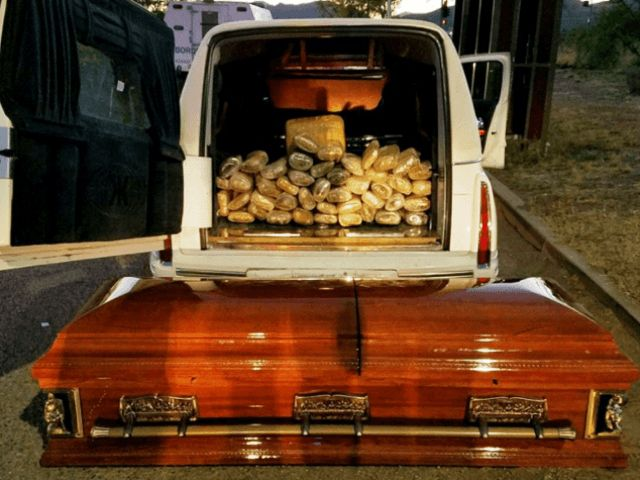 Border Patrol Agents Bust Hearse Full of Weed