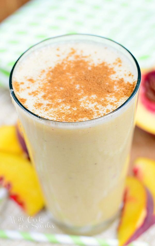 ... Peach Smoothie on Pinterest | Peach Smoothie Recipes, Smoothie and