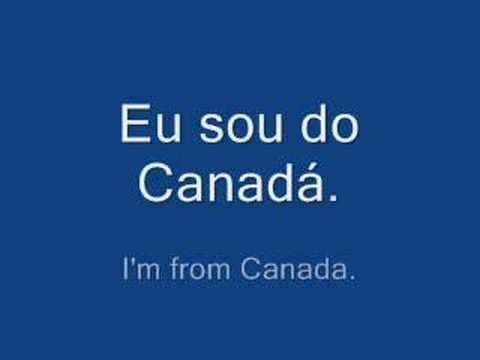 Learn Brazilian Portuguese Language Phrases - Greetings - YouTube