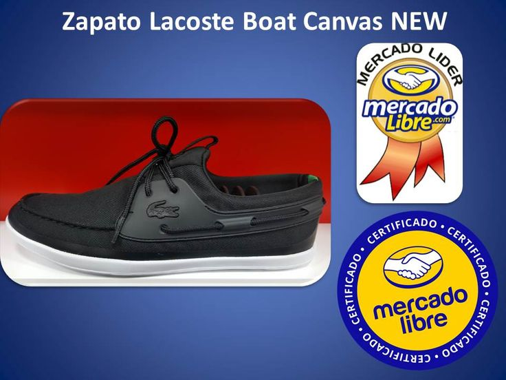 Deportivos Fair Play: Tenis - Zapatos Lacoste Boat Canvas New Originales...