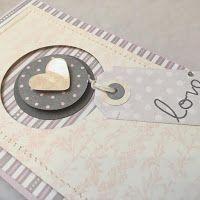 Galeria Schaffar - kartki, zaproszenia, albumy, scrapbooking.: Kartki ślubne w kolorach pastelowych