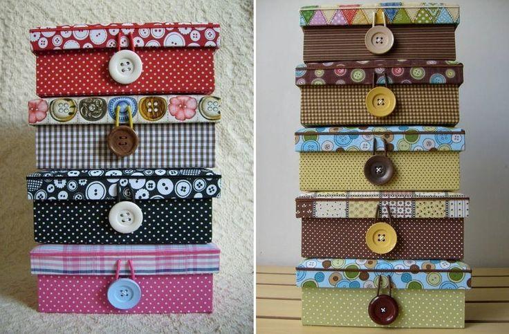 Ideias criativas para usar caixas de sapato na decoração!