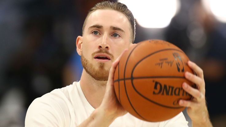 Gordon Hayward                           (Getty Photographs)                                                                                                   First it was GM Danny Ainge sharing an image of Gordon Hayward with no strolling boot...