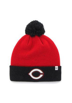 '47 Cincinnati Reds Red Bounder Cuff Knit Hat