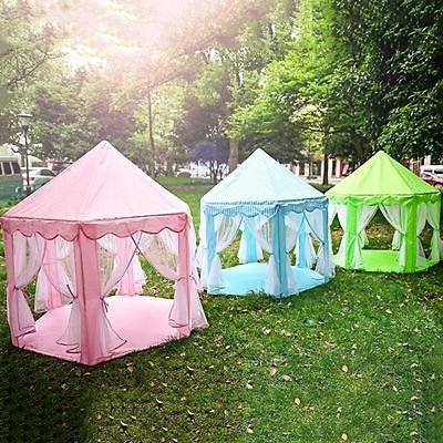 New Baby Play Tent Infant Kids Castle Toddler Play House Indoor Outdoor Portable