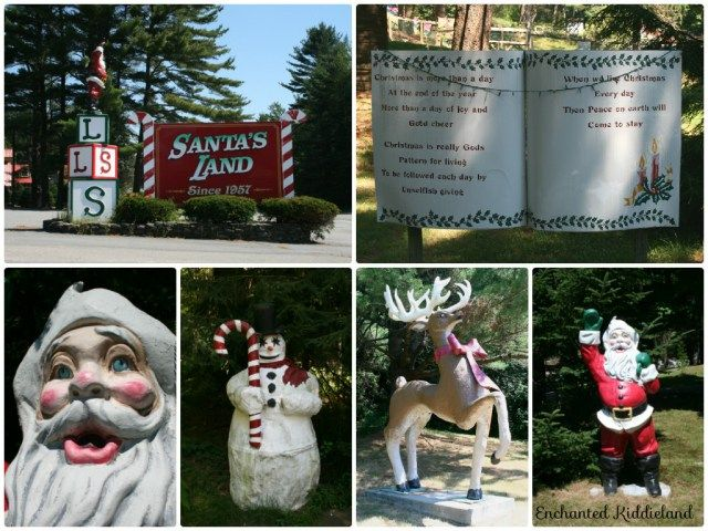 Santas Land! Read more at https://enchantedkiddieland.wordpress.com/2014/12/21/santas-land-usa-putney-vt/