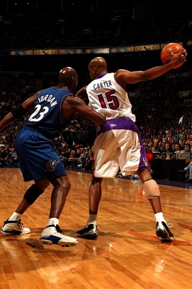 Vince Carter Toronto Raptors Michael Jordan Washington Wizards