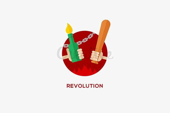 Revolution design concept by Lazyvector on Creative Market