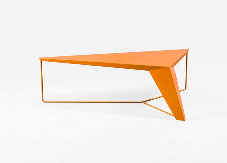 Oranj. Obviously.: Tables Par, Tables Furniture, Alain Gilles, Coff Tables, Furniture Orange, Industrial Design, Orange Tables, Design Alain, Tension Tables