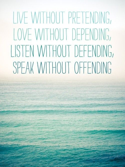 Live, Love, Listen & Speak