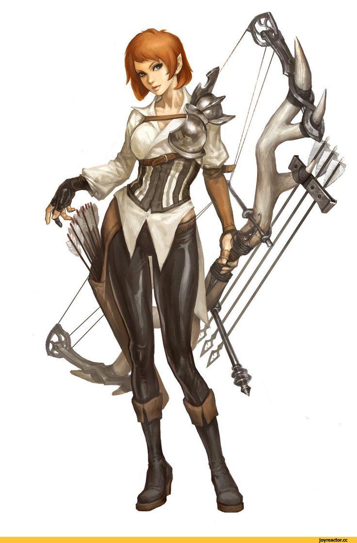 арт девушка,красивые картинки,art,лучница,fantasy