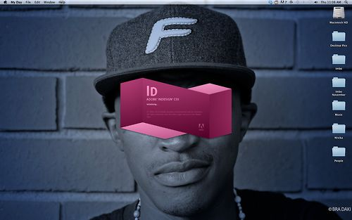 This happens when I open my InDesign. Excuse me for thinking it's Cool. Ok Zharp!