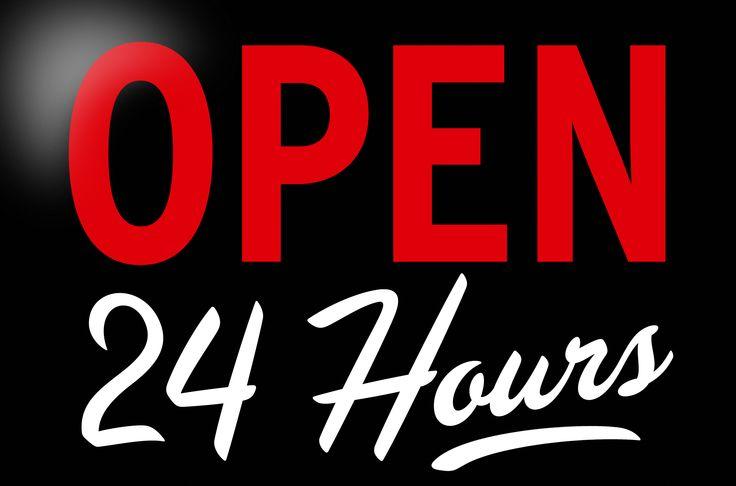 Wir sind rund um die Uhr für Sie da. Unser #IT-Service arbeitet #24x7.