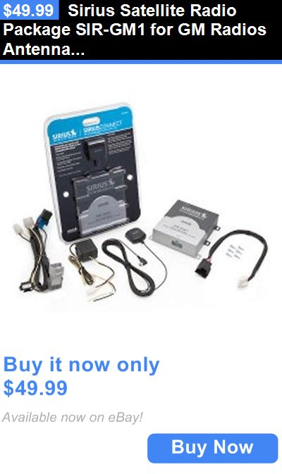 Other Car Audio: Sirius Satellite Radio Package Sir-Gm1 For Gm Radios Antenna Included New Sirgm1 BUY IT NOW ONLY: $49.99