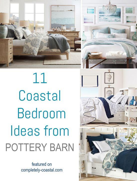 40 Coastal Bedrooms From Pottery Barn In 40 Coastal Decor Ideas Delectable Pottery Barn Bedroom Ideas