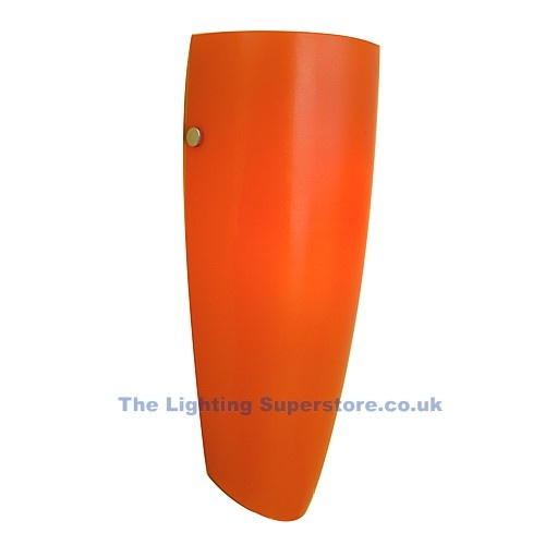 Naro Orange Wall Light - we've got four of these downstairs. They look great but we never turn them on!