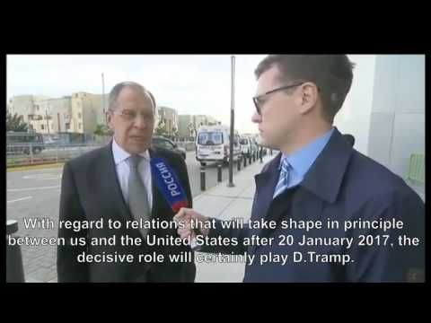 Russian FM Lavrov Reacts to Obama Plead to Trump to stand up to Russia's...