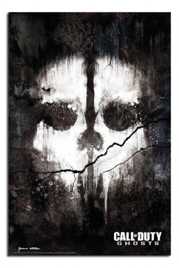 Call Of Duty Ghosts Skull Poster iPosters From £5.99