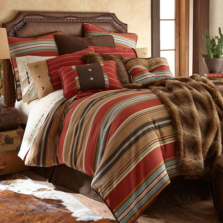 Delectably Yours Calhoun Southwestern Bedding Comforter Set & Matching Accessories by HiEndAccents #DelectablyYours Southwestern Bedding & Home Decor