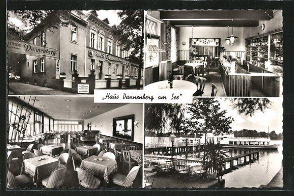 AK Berlin-Heiligensee, Haus Dannenberg am See, Alt-Heiligensee 52/54, Blick ins Innere Nr. 4275679 - oldthing: Ansichtskarten Deutschland PLZ 10......