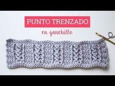 Tutorial punto trenzado en ganchillo | Crochet cable stitch