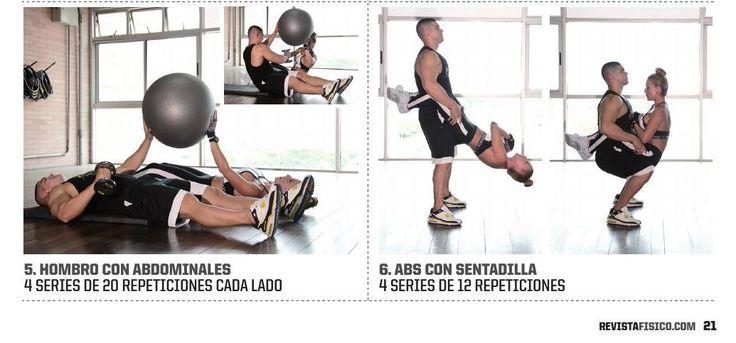 ENTRENA EN PAREJA Julio Becerra Entrenador y Guillola Gonzalez #ClippedOnIssuu from Revista Físico 11 Edición Especial