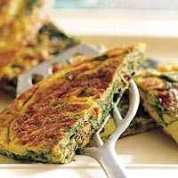 Recept - Spinazie-omelet / Recipe spinach omelet (in dutch so use google translate ;) )