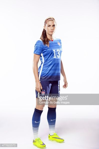 United States National Soccer team member, Alex Morgan is photographed for Sports Illustrated on May 2, 2015 in Newport Beach, California. COVER IMAGE.