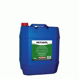 RETADOL: Concrete setting retarder with plasticizing properties (ASTM C-494: Type D). Increases setting time of concrete (delays setting) and improves its workability and its physical properties. Enables delivery of ready-mixed concrete to longer distances.