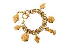 Vintage Pre-Owned Chanel Charm Bracelet
